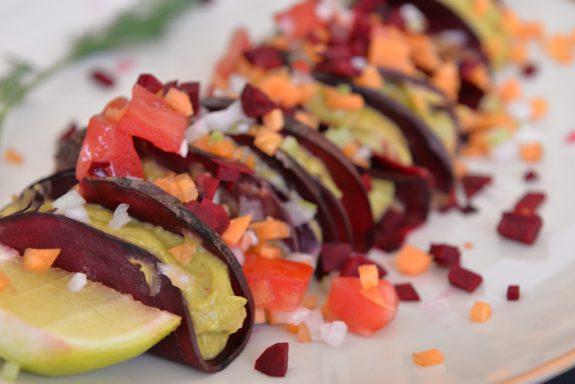 tacos de remolacha