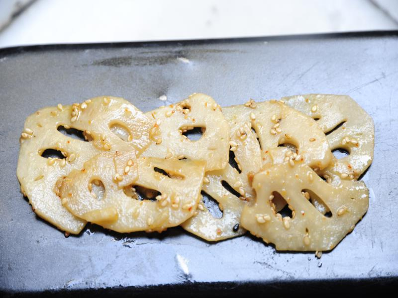 raíz de loto con nanami togarasi