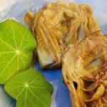 Alcachifas confitadas – aroa fernandez cocina vegetariana y saludable