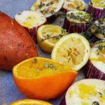 Berenjenas y boniatos al horno – aroa fernandez cocina vegetariana y saludable