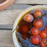 Tomates macerados – aroa fernandez cocina vegetariana y saludable