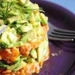 Tartar de boniato y aguacate – aroa fernandez cocina vegetariana y saludable
